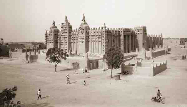 The Grand Mosque at Djenné